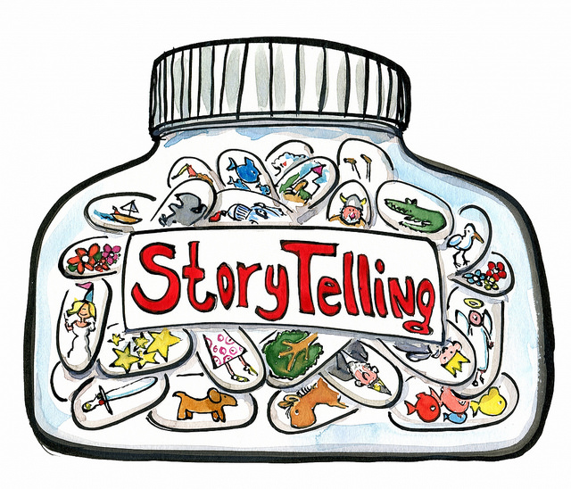 The Tradition of Oral Storytelling – Press Here to Start…reading
